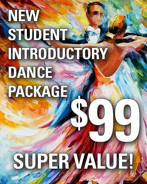 Super Value $99 dance package for beginning dance students at Rigby's Jig in Richmond Virginia